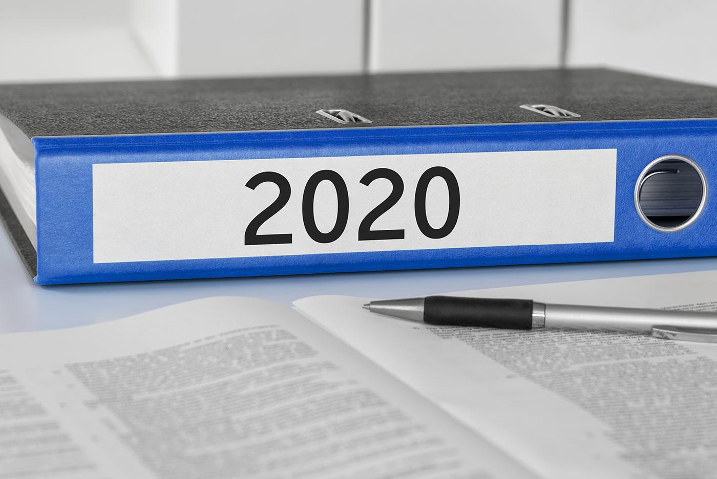 Podatki w 2020